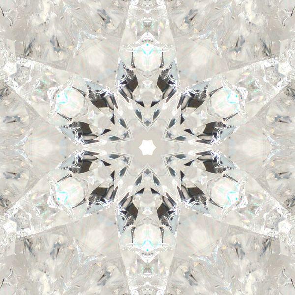 quartz mandala